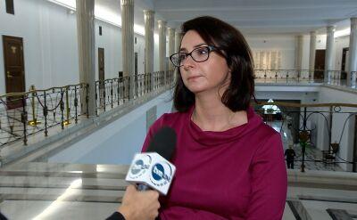 Gasiuk-Pihowicz: politycy PiS-u wprowadzają anarchię w życiu publicznym