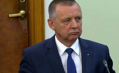 Szef NIK Marian Banaś wydał oświadczenie