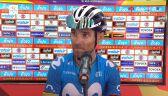 Valverde po wygraniu 3. etapu Giro di Sicilia