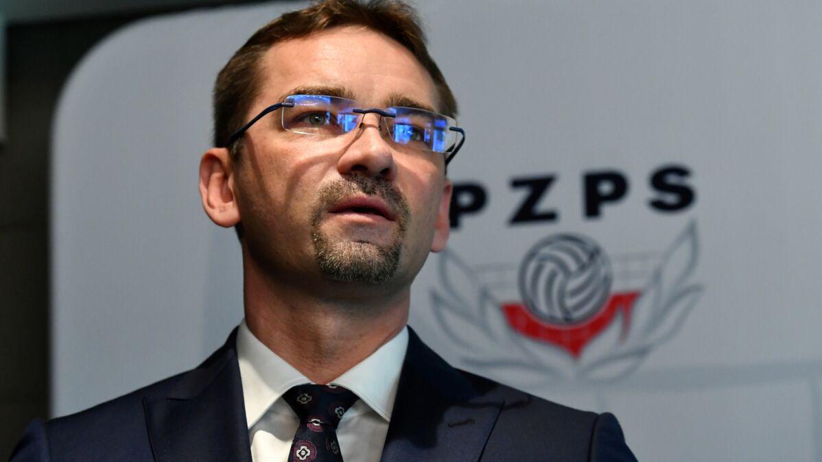 Sebastian Świderski nowym prezesem Polskiego Związku Piłki Siatkowej