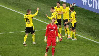 Pięć goli i nokaut. Borussia zabawiła się w Pucharze Niemiec