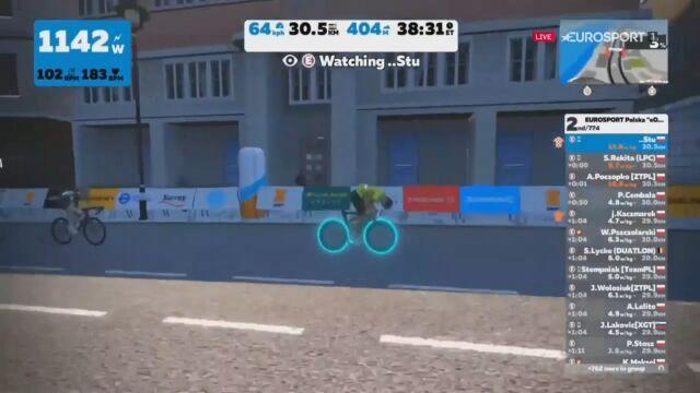 """""""Piorunująca moc w nogach"""". """"Stu"""" potwierdził dominację w Orlen e-Tour de Pologne Amatorów"""