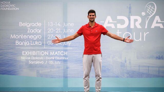 Kolejne gwiazdy zagrają w cyklu turniejów Djokovicia