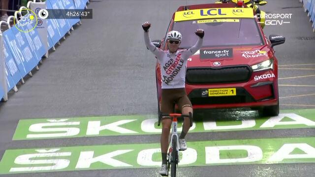 O'Connor wygrał 9. etap Tour de France