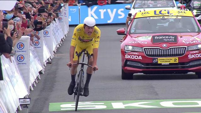 Van der Poel utrzymał prowadzenie w klasyfikacji generalnej po 5. etapie Tour de France