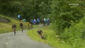 Wypadek McNulty'ego na 9. etapie Tour de France