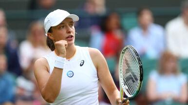Pierwsze zwycięstwo Świątek w karierze w głównej drabince Wimbledonu