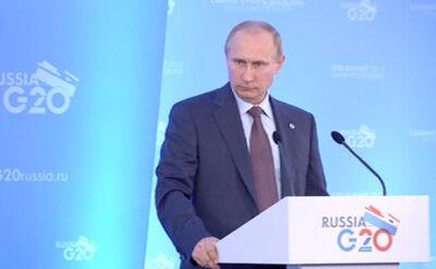 Putin: to prowokacja ze strony bojowników