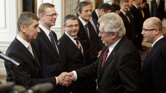 Czesi mają nowy rząd