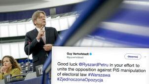 Verhofstadt do Petru: powodzenia