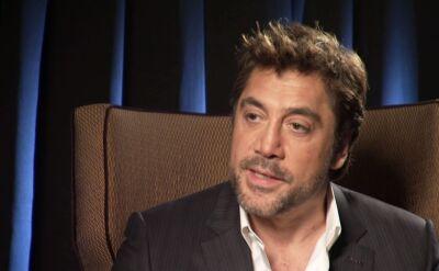 """Javier Bardem w """"Dzień Dobry TVN"""": czuje się pewniej, gdy gram z żoną w jednym filmie"""