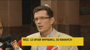Rzecznik MSZ: 12 osób zginęło (TVN24)