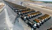 1453 ciężarówki na pasie startowym. Niezwykła parada na tureckim lotnisku