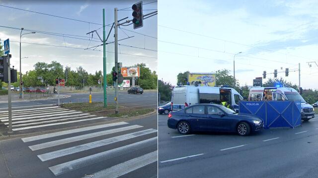 Na tym skrzyżowaniu zginął ośmiolatek. Po wypadku tramwaje straciły pierwszeństwo przejazdu