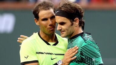 Nadal zmiecie z kortu Federera? Bukmacherzy nie mają wątpliwości