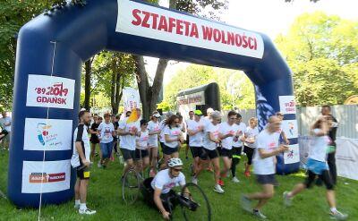 Sztafeta Wolności. Z Warszawy do Gdańska