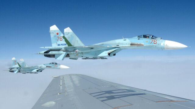 Rosyjskie myśliwce i bombowce przechwycone nad Bałtykiem