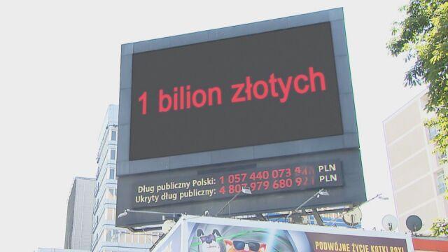 Zadłużenie Polski przekroczyło bilion złotych