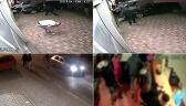 Nagranie z monitoringu z ataku w Myślenicach