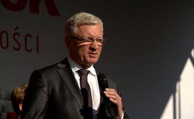 Jaśkowiak: 30 lat temu robotnicy, rolnicy i inteligenci szli razem i znokautowali rząd PRL-u