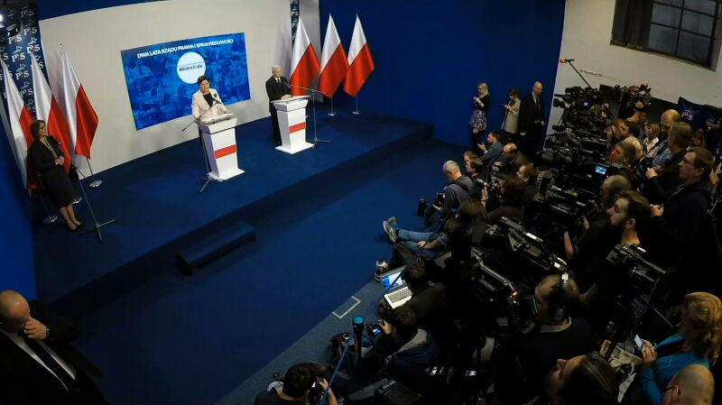 Kaczyński: nasza polityka jest nastawiona na podnoszenie płac i spadek bezrobocia