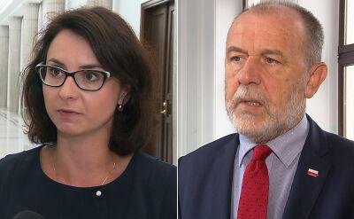 Kamila Gasiuk-Pihowicz i Jan Mosiński o negocjacjach
