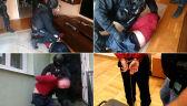 Poszukiwany ws. próby zamachu we Wrocławiu w rękach policji. Nagranie z zatrzymania