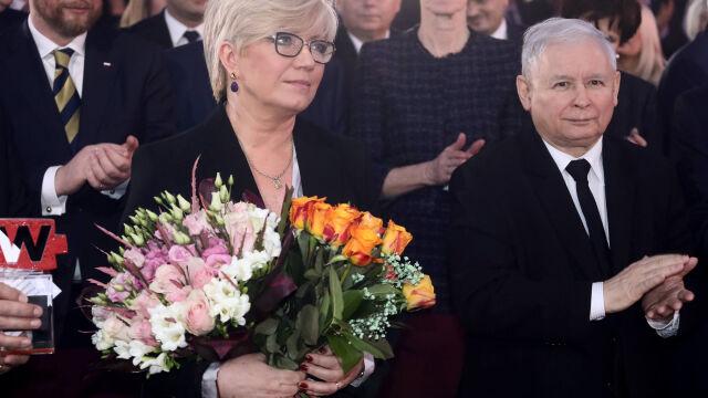 """Prezes PiS o tym, że """"bywa"""" u Przyłębskiej. Horała: nie widzę złamania standardów"""