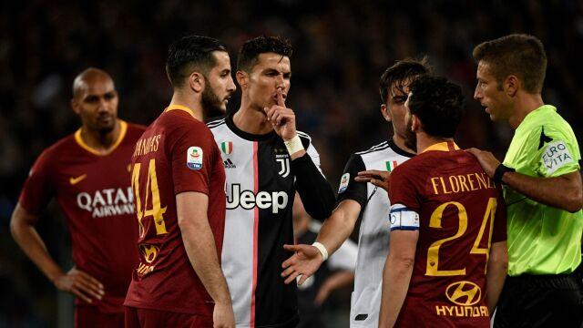 """Ronaldo zadrwił z przeciwnika. """"Jesteś za mały, żeby ze mną gadać"""""""