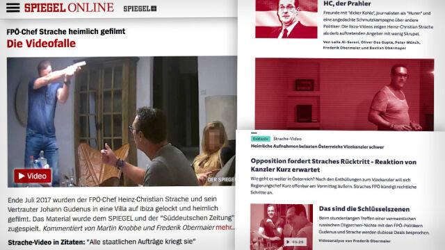 Wicekanclerz Austrii złożył dymisję po skandalu z nagraniem
