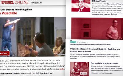 Nagrania wideo obciążające wicekanclerza Austrii