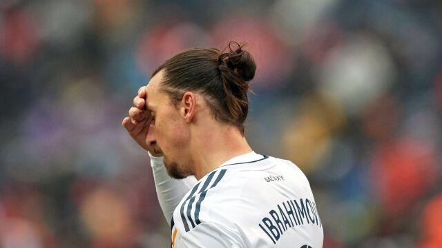 Ibrahimović ukarany. Złapał bramkarza za kark