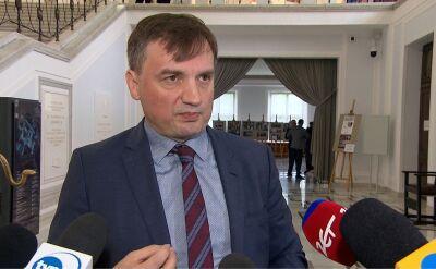 Ziobro: prokuratura będzie działać w oparciu o fakty