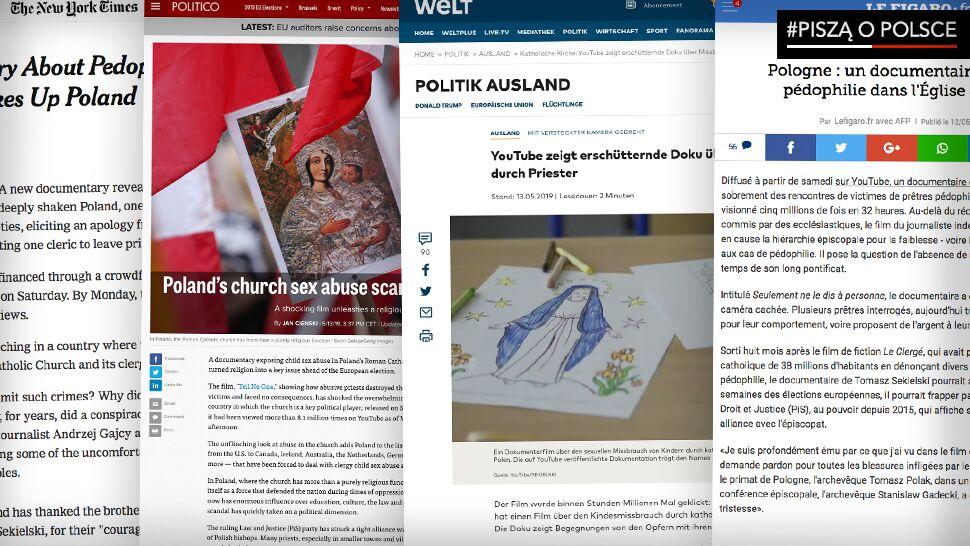 """""""Wstrząsnął Polską"""". Zagraniczne media o """"Tylko nie mów nikomu"""""""