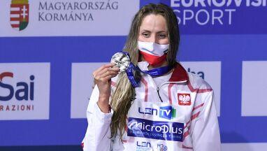 Srebrny medal i nowy rekord Polski.