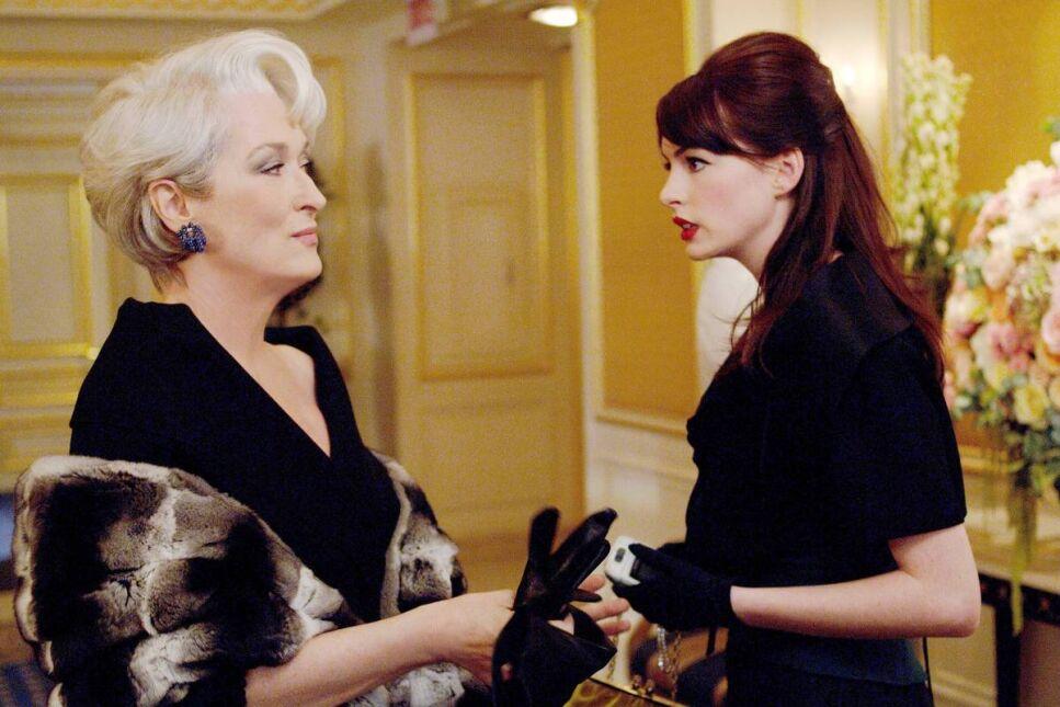 Diabeł ubiera sie u Prady (z Anne Hathaway)