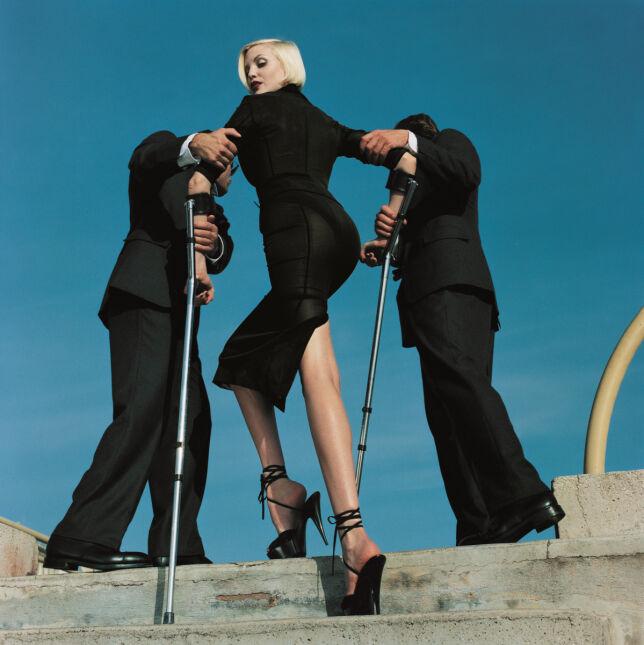 Nogi do nieba - w butach Dolce&Gabbana