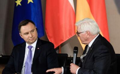 Prezydent Andrzej Duda spotkał się z prezydentem Niemiec, Frankiem-Walterem Steinmeierem
