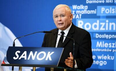 Prezes PiS w Sanoku: sukces goni sukces
