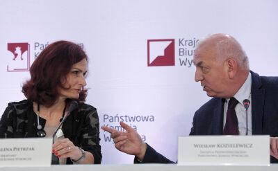 """Pierwsza powyborcza konferencja PKW. """"Wyniki we wtorek, środę"""""""