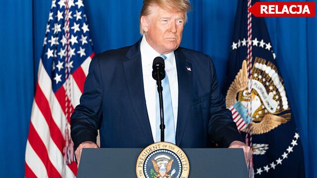 Iran zaatakował bazy z amerykańskimi żołnierzami. Oświadczenie Donalda Trumpa po wydarzeniach w Iraku