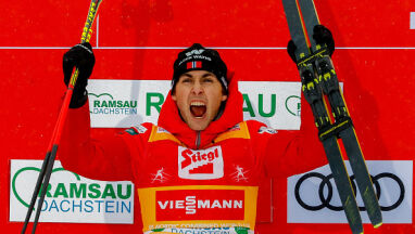 Kombinator norweski zbliżył się do rekordu Małysza. Fantastyczny skok