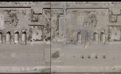 Zdjęcia satelitarne bazy Al Asad po ataku Iranu