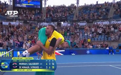 Australia awansowała do półfinału ATP Cup