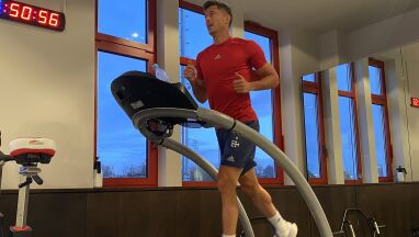 Lewandowski wrócił do pracy.