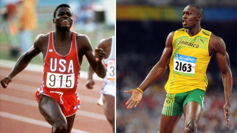 Lewis kontra Bolt. Wirtualny  pojedynek królów sprintu