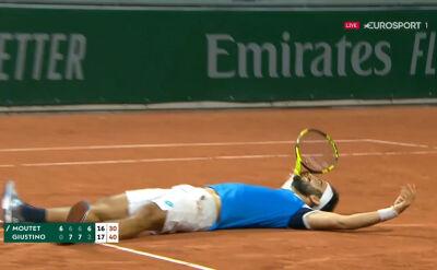 Giustino pokonał Mouteta w 1. rundzie Roland Garros