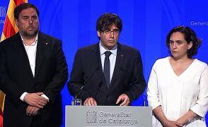 Carles Puigdemon o zamachu w Barcelonie