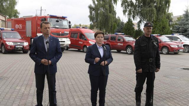 Komendant: 24 tysiące interwencji strażaków