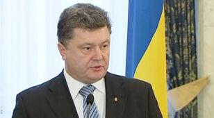 Poroszenko nakłania Merkel, by pomogła rozwiązać konflikt na wschodzie Ukrainy